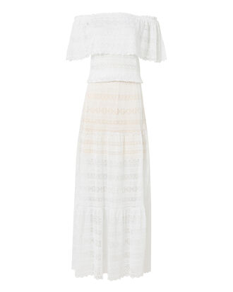 Rosalina Maxi Dress, WHITE, hi-res