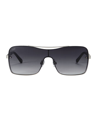 Shield Smoke Mirror Sunglasses, METALLIC, hi-res