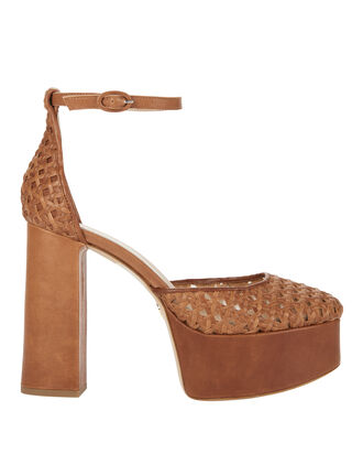 Oracle Mary Jane Platform Sandals, BEIGE, hi-res