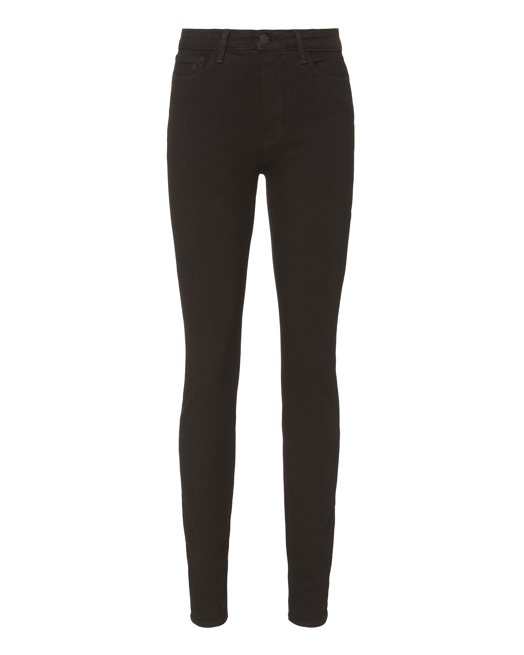 Marguerite High-Rise Noir Skinny Jeans, BLACK, hi-res