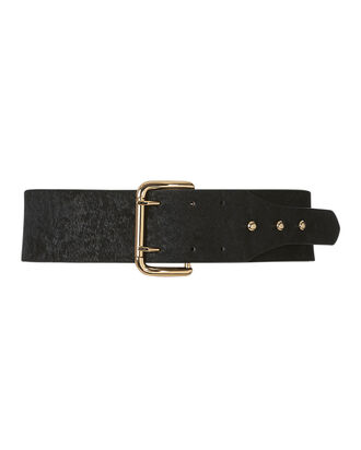 Griffin Haircalf Belt, BLACK, hi-res