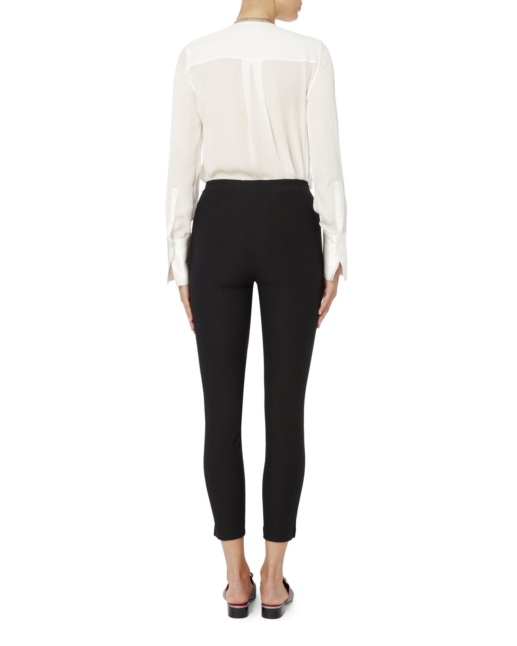 Brody High-Waist Pants, BLACK, hi-res