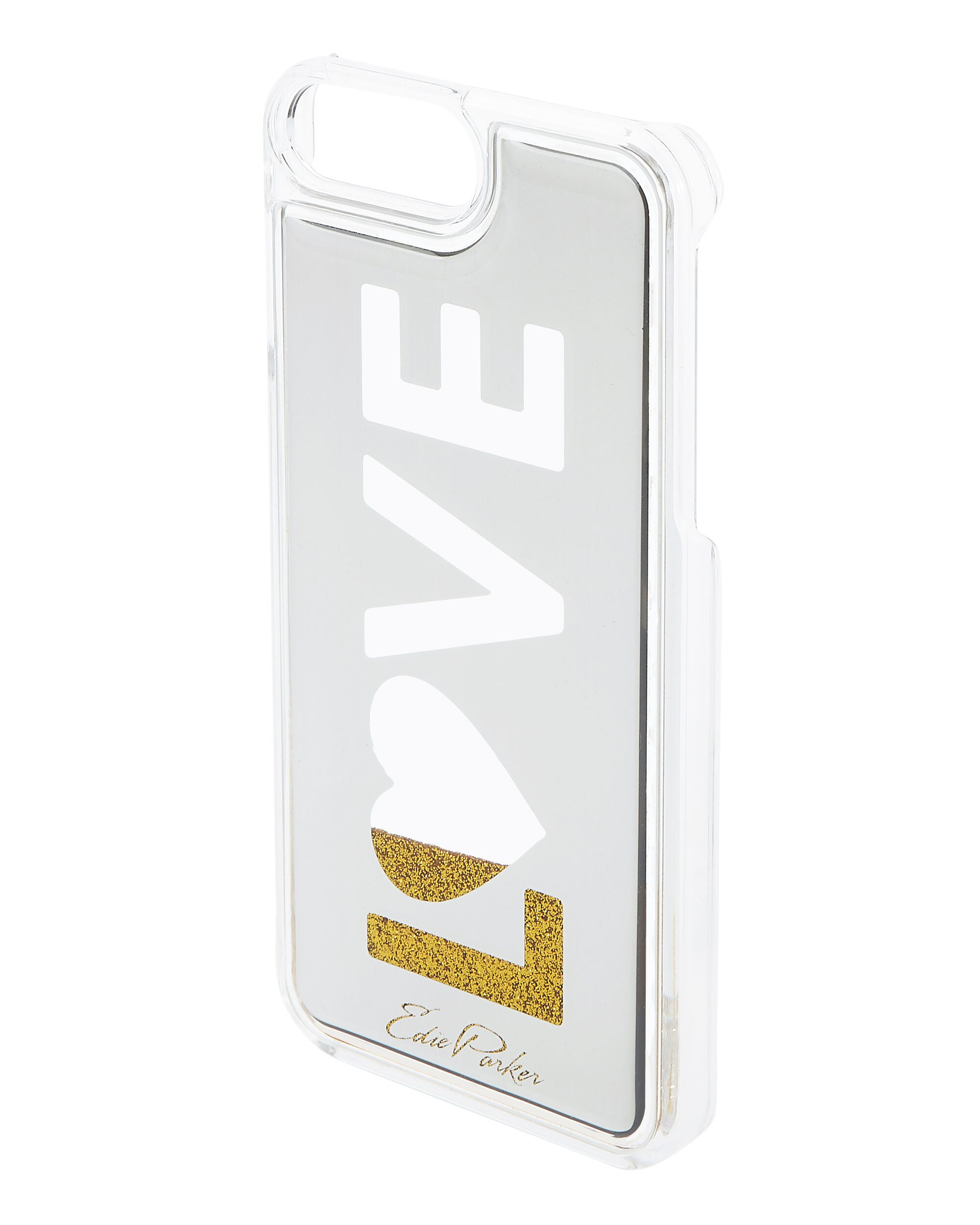 Gold Floating Love iPhone 6 or 7 Plus Case, METALLIC, hi-res