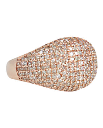 Signet Pinky Ring, METALLIC, hi-res