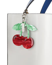 Red Cherry Charm, RED, hi-res