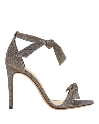 Clarita Double Bow Shimmer Sandals, COLORBLOCK, hi-res