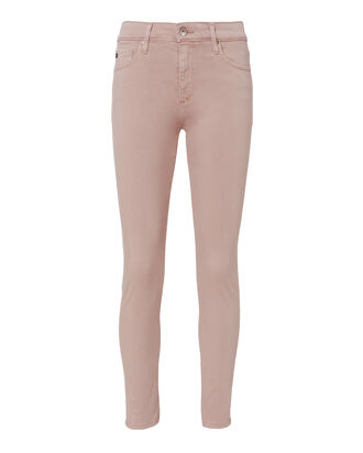 Farrah High-Rise Crop Skinny Jeans, BLUSH, hi-res