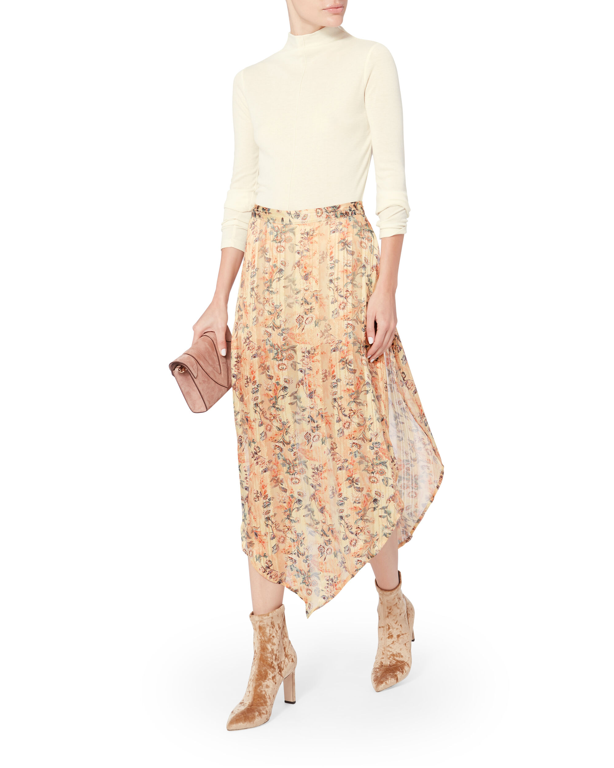 Anastasia Slayer Maxi Skirt, PRINT, hi-res