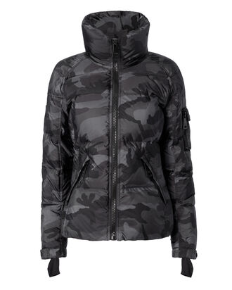 Freestyle Camo Puffer Jacket, PRINT, hi-res