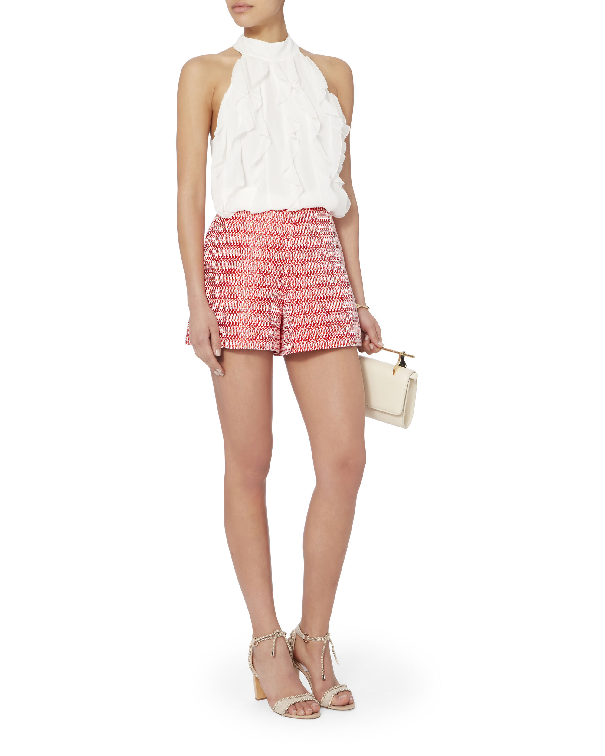 Nelly Tweed Shorts, PAT-TREND, hi-res