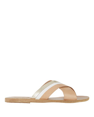 Thais Colorblock Sandals, COLORBLOCK, hi-res