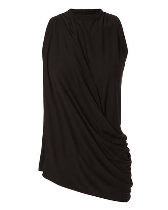 Asymmetric Black Top, BLACK, hi-res