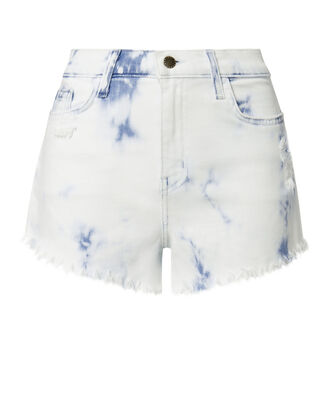 Zoe Bleached Cut Off Shorts, DENIM, hi-res