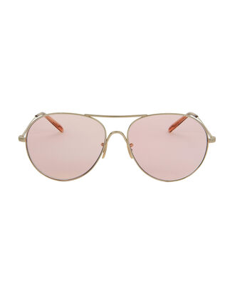 Rockmore Light Pink Aviator Sunglasses, PINK, hi-res