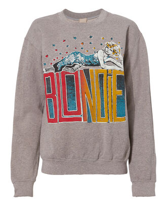 Blondie Multicolored Glitter Sweatshirt, GREY, hi-res