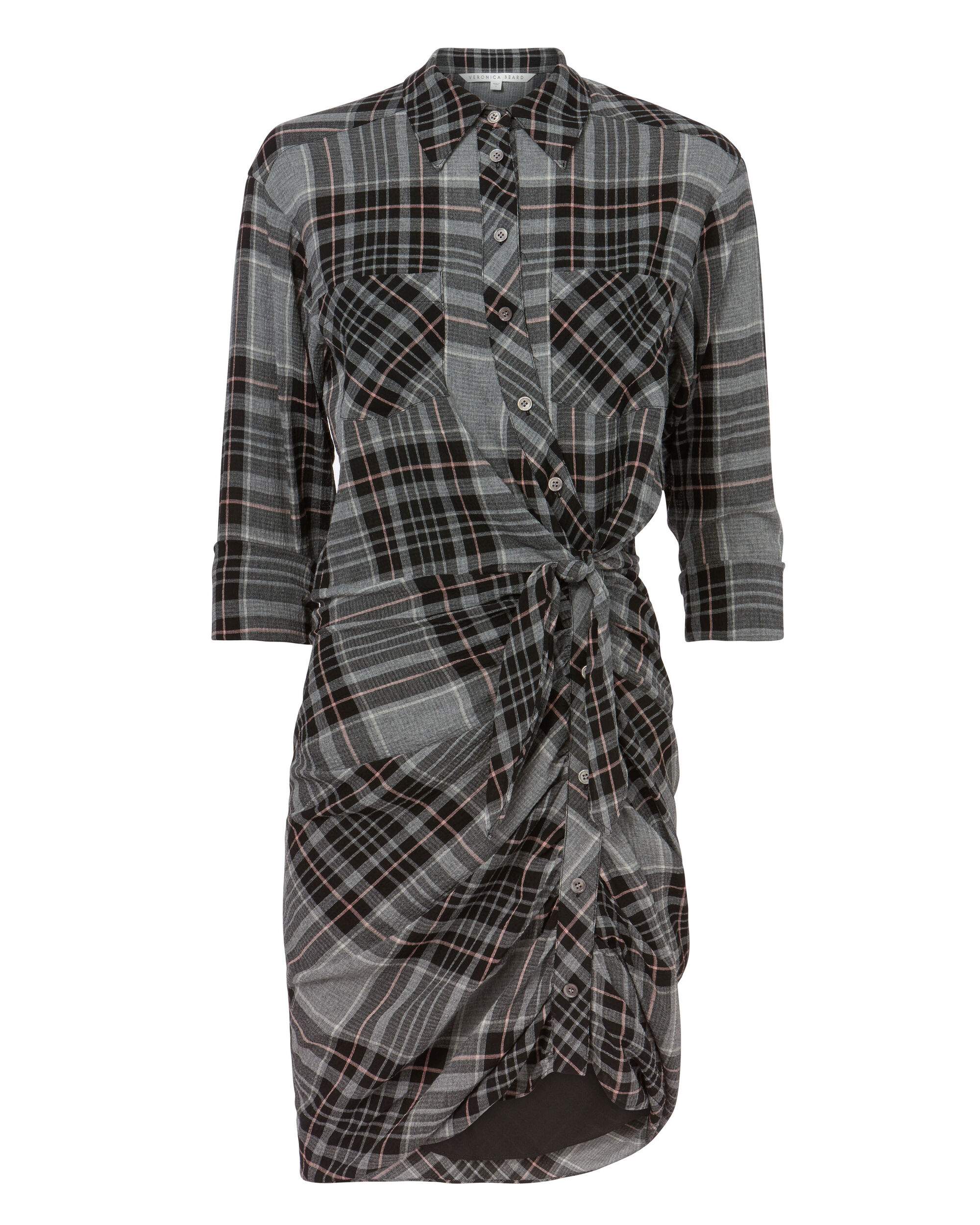 Sierra Plaid Dress, PATTERN, hi-res