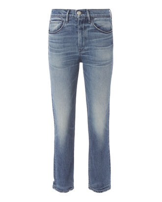 Vedder Shelter Straight Crop Jeans, DENIM, hi-res