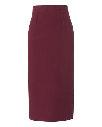 Arreton Pencil Skirt, RED, hi-res