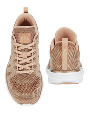 TechLoom Pro Rose Gold Performance Sneakers, PINK, hi-res