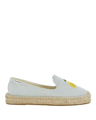Lemon Espadrilles, DENIM, hi-res