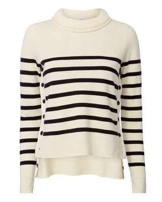 Declan Striped Knit Sweater, STRIPE, hi-res