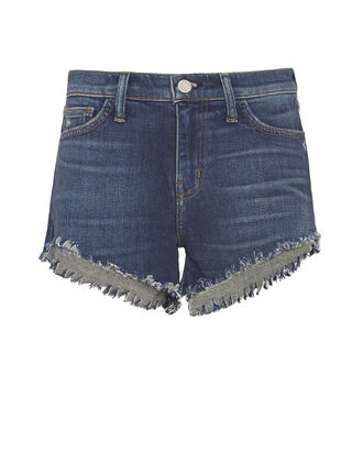 Zoe Perfect Blue Shorts, DENIM, hi-res