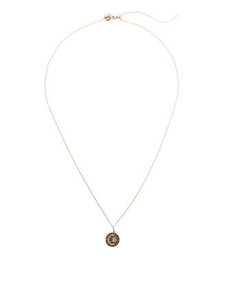 Celestial Medallion Necklace, GOLD, hi-res