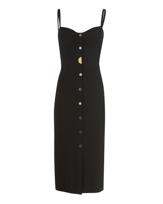 Ellis Bustier Dress, BLACK, hi-res