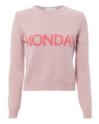 Monday Pink Sweater, PINK, hi-res