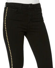 Margot Studded Jeans, BLACK, hi-res
