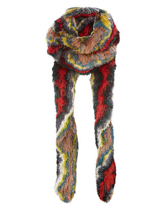Long Lurex Scarf, MULTI, hi-res