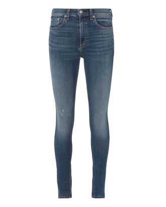 High Rise Skinny Jeans, DENIM, hi-res
