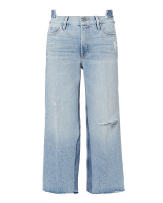 Le Reconstructed Cropped Wide Leg Jeans, DENIM, hi-res