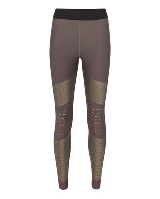 Ultra Silk Perforated Leggings, BEIGE, hi-res