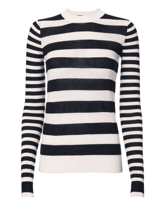 Striped Cashmere Sweater, PATTERN, hi-res