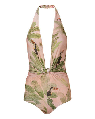 Bahinana Knotted Swimsuit, MULTI, hi-res