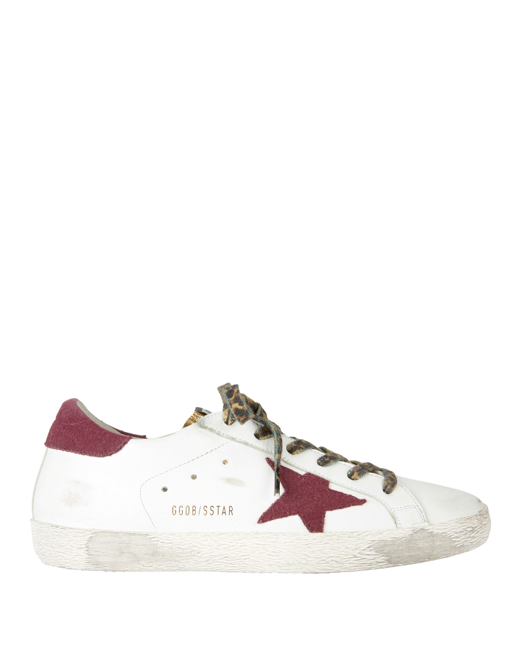 Superstar Red Star Sneakers, WHITE, hi-res