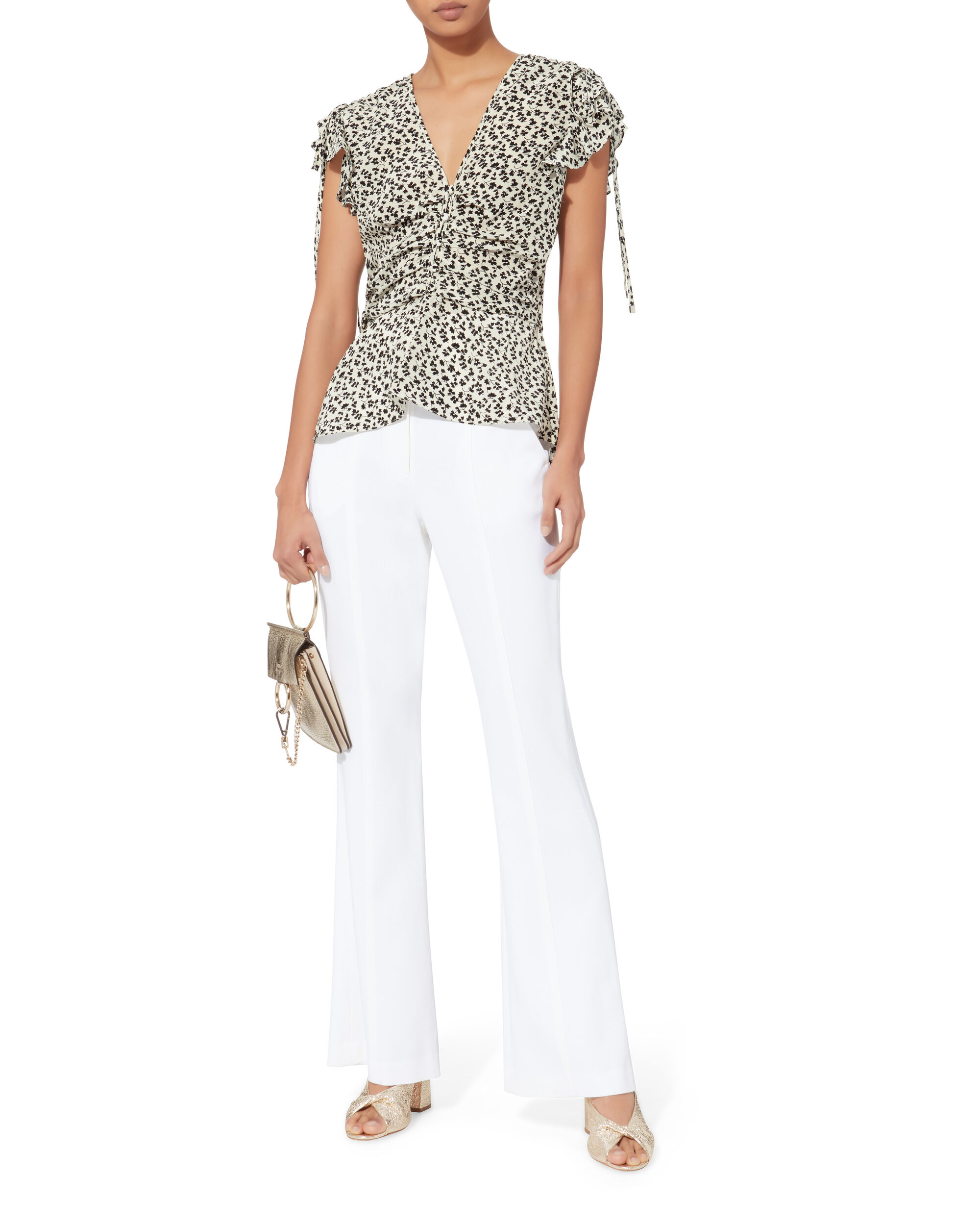 Costa Blouse, WHITE, hi-res