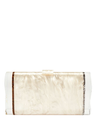 Lara Ice Ends Box Clutch: Nude, BLUSH/NUDE, hi-res