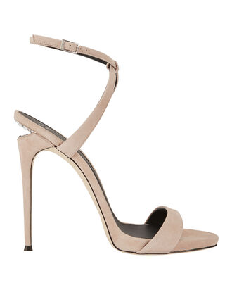 Coline Crystal Cutout Heel Sandals, NUDE, hi-res