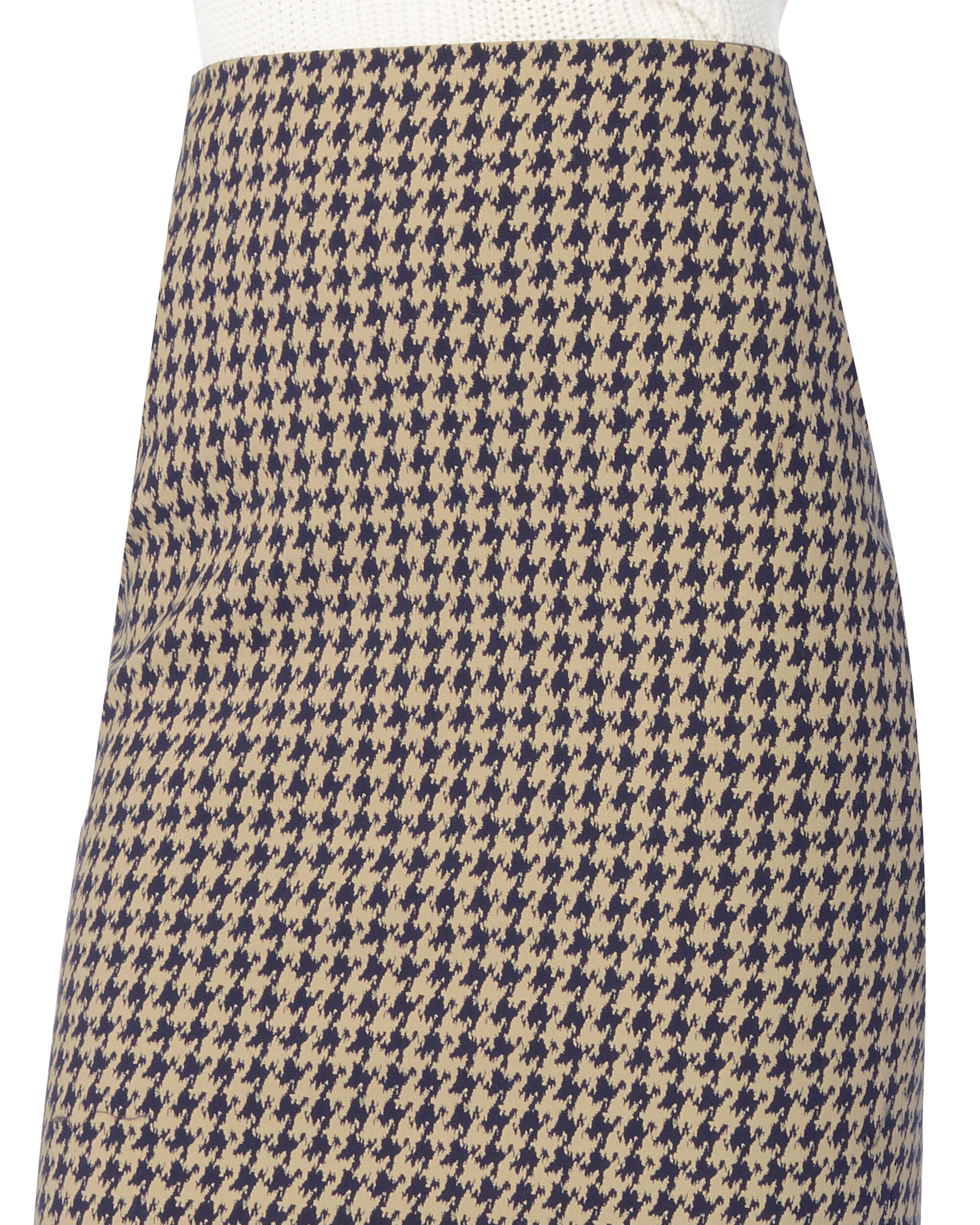 Houndstooth Skirt, MULT-MED 2, hi-res