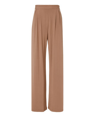 Fox Silk-Lined Pants, PINK, hi-res