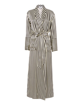 Nika Striped Capability Robe, PATTERN, hi-res