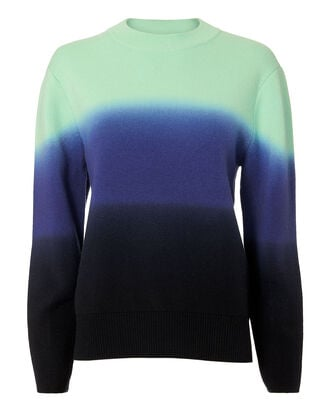 Ombre Wool-Cashmere Sweater, MULT-MED 2, hi-res