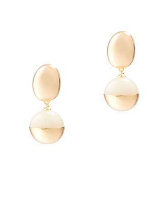 Egg Drop Earrings, GOLD, hi-res