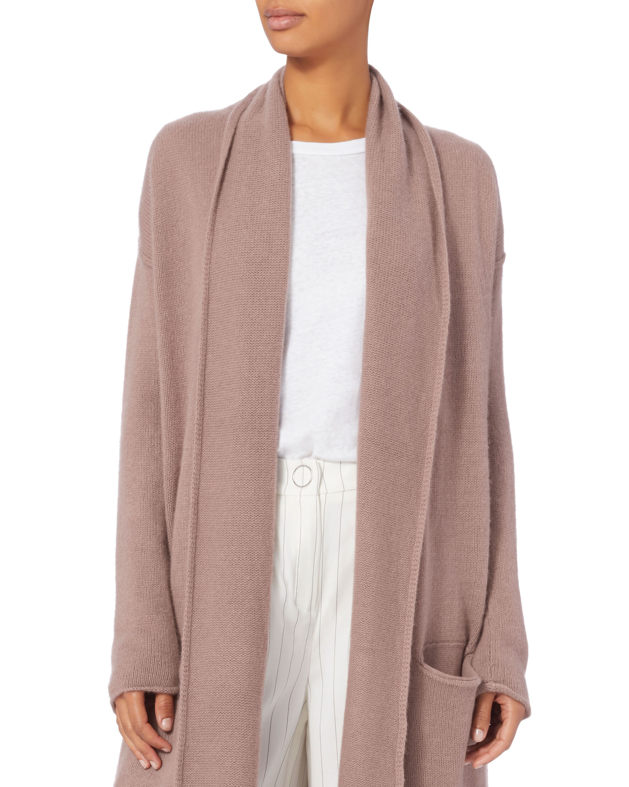 Robertson Duster Sweater, PINK, hi-res