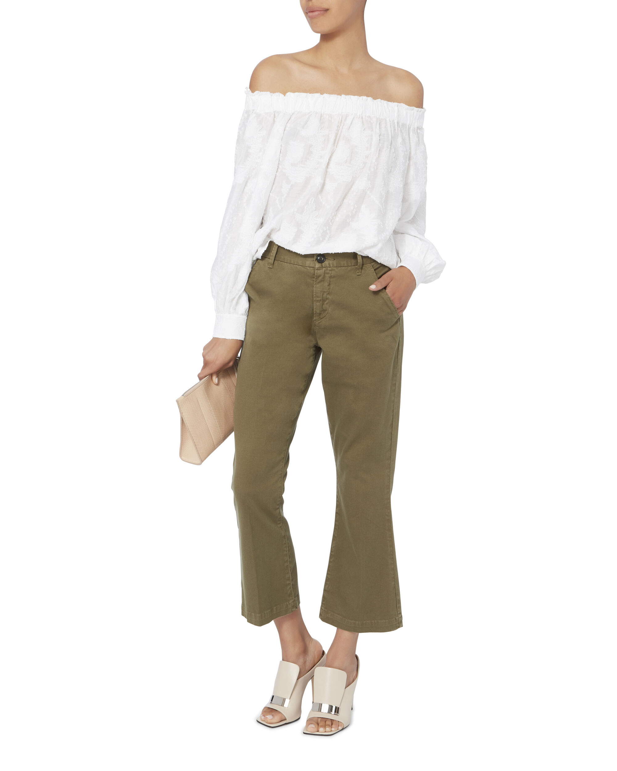 Geneva Off-The-Shoulder Top, WHITE, hi-res