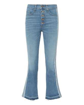 Carolyn Baby Blue Tuxedo Stripe Jeans, DENIM-DRK, hi-res