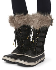 Joan of Arctic Faux Fur Snow Boots, BLACK, hi-res