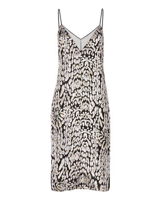 Leopard Velvet Slip Dress, PRI-ANIMAL, hi-res